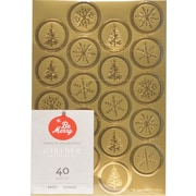 "Gartner Studios, Gold Foil Seals, 4.25"" x 6.25"", 40 Pack  (18709)"