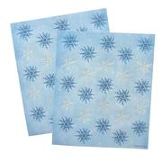 "Gartner Studios, Glitter Snowflake Seals, 5.25"" x 6.25"", 50 Pack  (60841)"
