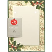 "Gartner Studios, Painterly Holly Invitations, 5"" x 7"", 10 Pack (64725)"