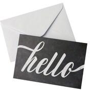 "Gartner Studios, Blank Note Chalk Hello, 10 Count, 4""x 6"", (83766)"