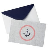 "Gartner Studios, Blank Note Anchor Note, 10 Count, 4 ""x 6"", (83765)"