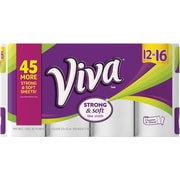 Kimberly-Clark Viva Roll Towel, White, 12/Pk