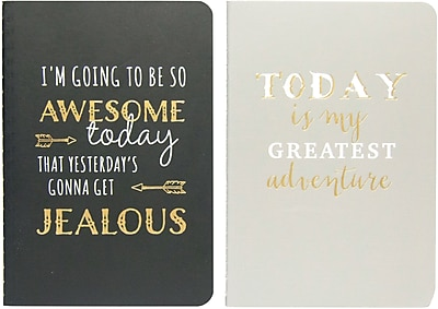Eccolo Journal 2-Pack, 3.5x5