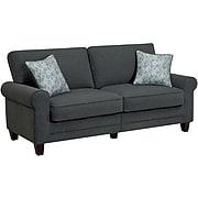 "Serta RTA Copenhagen Collection 78"" Sofa in Steeple Gray"