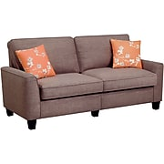 "Serta RTA Astoria Collection 78"" Sofa in Church Brick Tan"