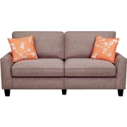 "Serta RTA Astoria Collection 78"" Sofa in Church Brick Tan"