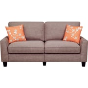 "Serta RTA Astoria Collection 73"" Sofa in Church Brick Tan"