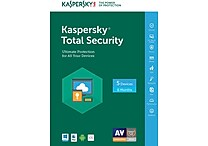 Kaspersky Total Security 5 Devices 6 Months for Windows/Mac (1-5 Users) [Download]