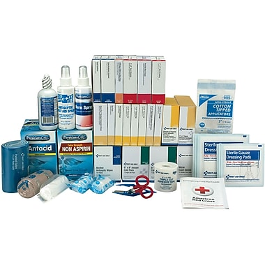 First Aid Only™ 100 Person, 3 Shelf Class B+ First Aid Refill with Medications (90623)