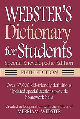 Federal Street Press Webster's For Students Dictionary and Thesaurus Set, Paperback (FSP978)