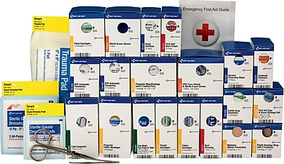 First Aid Only™ ANSI A+ SmartCompliance Large First Aid Kit Refill for up to 25 People (90827)