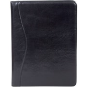 Italian Leather Letter Size Black Pad