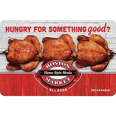 Boston Market Gift Card $50 (Email Delivery)