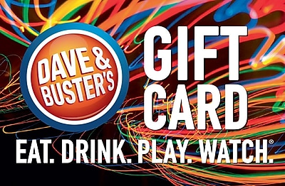 Dave & Busters Gift Card $100 (Email Delivery)
