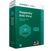 Kaspersky Anti-Virus 2017, 1 User, Windows, Disk (8130097)