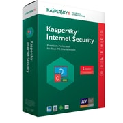 Kaspersky Internet Security 2017 1 User License for Windows (8130098)