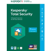 Kaspersky Total Security 2017 1-3 (1 Year) Users for Windows/Mac Download (CJ9X4HSRNQ7FG9B)