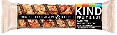 Kind Dark Chocolate Almond & Coconut Bar, 1.4 Oz., 12/Ct