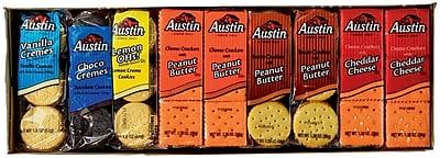 Austin Cracker Cookie Variety Pack, 45 count