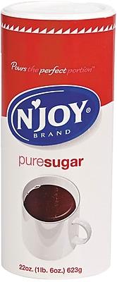 N Joy Pure Sugar, 20 oz. Single Canister