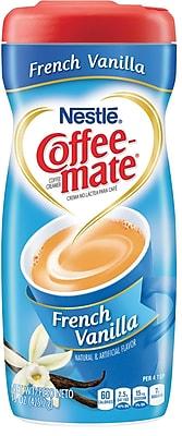 Nestle® Coffee-mate® Coffee Creamer, French Vanilla, 15 oz Powder Creamer, 1 Canister