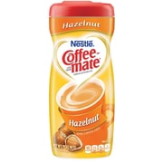 Nestlé® Coffee-mate® Coffee Creamer, Hazelnut, 15oz Powder Creamer, 12 Canisters