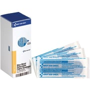 "First Aid Only® SmartCompliance® Refill 1""X3"" Blue Metal Detectable Bandages, 25 Per Box (FAE-3010)"