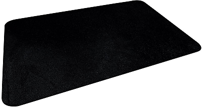 Staples Large Microfiber Mouse Pad, Black