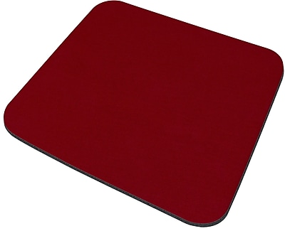 Staples Mouse Pad, Maroon