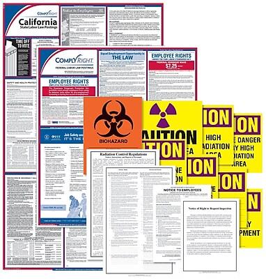 ComplyRight™ Healthcare Public Health Poster Kit, CA - California (EHCAUPUB)