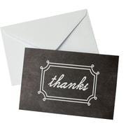 "Gartner Studios, Chalk Thank You, 10 Count, 4"" x 6"", (19455)"