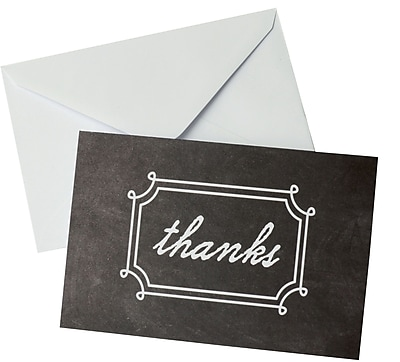 Gartner Studios, Chalk Thank You, 10 Count, 4