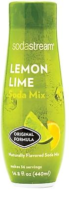 Sodastream Lemon Lime Sparkling Drink Mix, 440ml