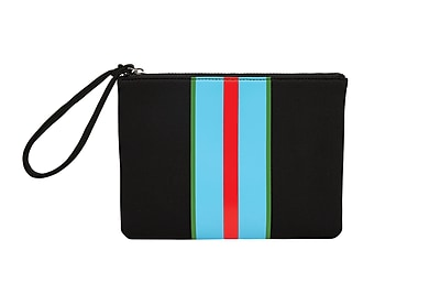 Cynthia Rowley,Flat Clutch, Stripe (50612)