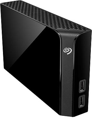 Seagate Backup Plus 8 TB USB 3.0 Hub Desktop Hard Drive, Black (STEL8000100)
