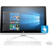 HP 24-g026 Touchscreen All-in-One Desktop PC (Intel i5 Processor, 8GB RAM Memory, 1TB Hard Drive)