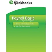 Quickbooks Desktop Payroll Basic 2017 for Windows (1 User) [Download]