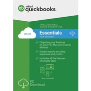 Quickbooks Online Essentials 2017 for Windows (1 User) [Download]