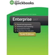Quickbooks Desktop Enterprise Gold 2017 for Windows (1 User) [Download]