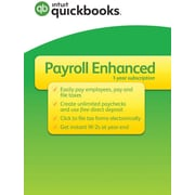 Quickbooks Desktop Payroll Enhanced 2017 for Windows (1 User) [Download]