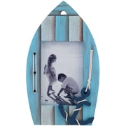 4x6 Weathered Blue Boat Picture Frame