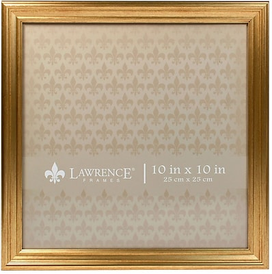 10x10 Sutter Burnished Gold Picture Frame