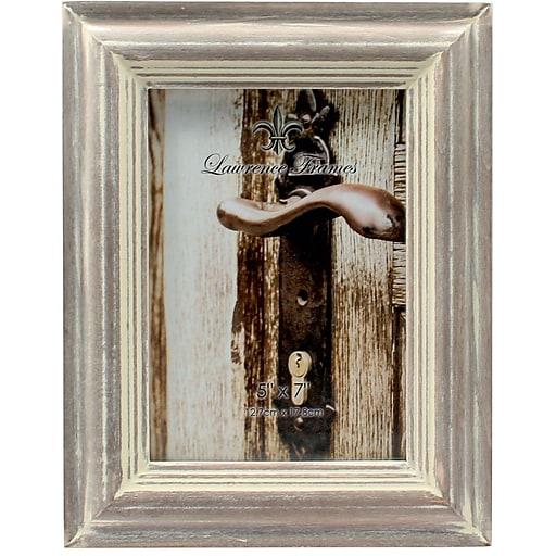 5x7 washed gray picture frame staples. Black Bedroom Furniture Sets. Home Design Ideas