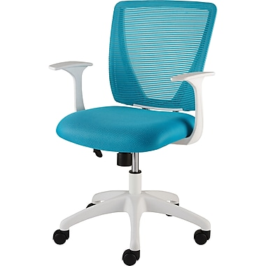 Staples Vexa Mesh Chair White Teal