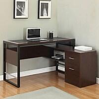 Z-Line Montara Tech L-Desk (Espresso)