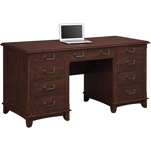 shop staples for whalen nottingham double pedestal desk