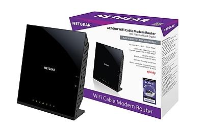 NETGEAR AC1600 Wi-Fi DOCSIS 3.0 Cable Modem Router