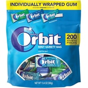 Orbit Mint Variety Bag, 200 count