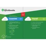 QuickBooks Essentials w/ Payroll 2017 for Windows (1 User) [Download]