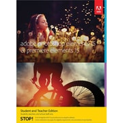 Adobe Photoshop Elements 15 & Premiere Elements 15 Student and Teacher Edition for Windows/Mac (1 User) [Download]
